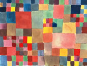 Klee, Paul: Red ballon, 1922